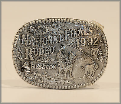 Hesston Buckle 1992 ***Nfr*** National Finals Rodeo   New!!!