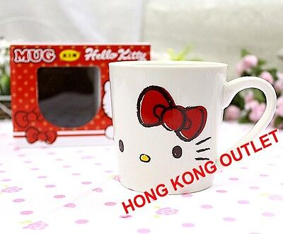 Hello Kitty Small Ceramic Cup Mug Original Japan Sanrio   M21b