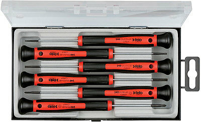 Felo 0715731846 240-Series Torx and Hex Precision Screwdrivers, 6-Pack