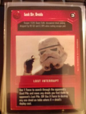 PREMIERE LIMITED BB star wars ccg Imperial-Class Star Destroyer played