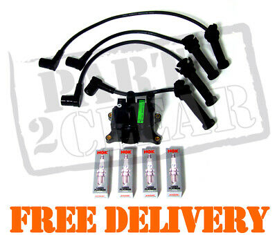 Ford Mondeo Mk3 1.8 2.0 Ignition Coil Pack Spark Plugs & Leads Platinum