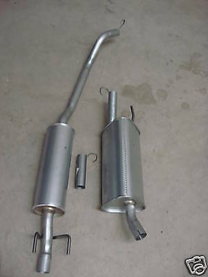 Vauxhall Corsa B 1.2 1.4 Centre & Rear Exhaust Boxes System Replacement