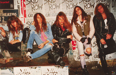 POSTER - MUSIC : SKID ROW II - ALL 5 POSED  FREE SHIPPING !   #3240  LW4 N