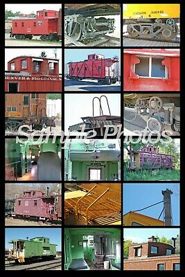 On30 Prototype Photo Disc Guide to Modeling Standard Narrow Gauge Caboose Detail