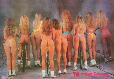 Poster : Tour Des Femmes  - Sexy Female Models    Free Shipping - #2557 Rc30 J