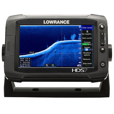 Lowrance HDS-7 Gen2 Touch Insight - 83/200kHz - T/M Transducer