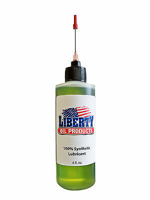 The Best 100% Synthetic Oil for lubricating all vintage clocks-4oz Bottle