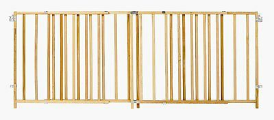 NEW! North States Supergate Extra Wide Wooden Gate with Swing Control Hinge