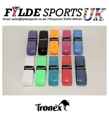 4 x Tronex Grip Super PU Badminton Squash Tennis Racketball Paddle Racket Grips!