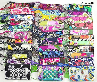 NWT Vera Bradley ~ Zip ID Case ~ NEW More than 15 Patterns - Free shipping in US