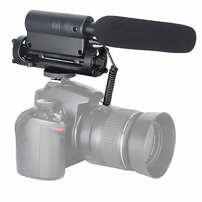 TAKSTAR SGC-598 photography interview microphone photography for Canon Nikon