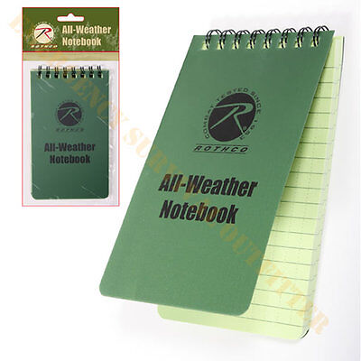All Weather Waterproof Treated Paper Write in Rain Paper Notebook Note Book