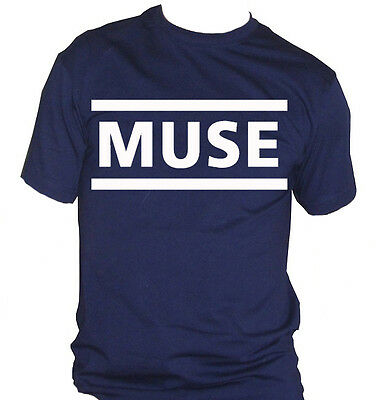 fm10 t-shirt uomo MUSE Matthew James Bellamy MUSICA