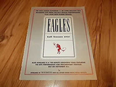 Eagles-magazine advert