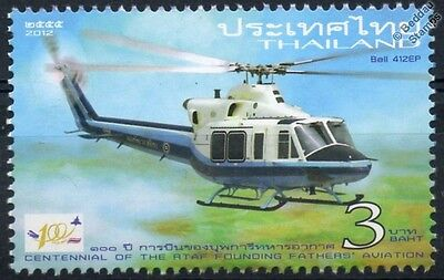 BELL 412 / 412EP Utility Helicopter Aircraft Mint Stamp (2012 RTAF / R.T.A.F.)