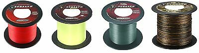 Spiderwire Stealth Braid 1800m Spools 7.1kg-59kg Red/Yellow/Green/Camo