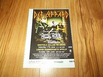 Def Leppard-2006 magazine advert