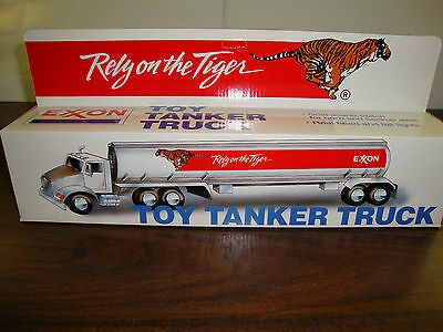 "Exxon---Toy Tanker Truck---1993---14"" Long"
