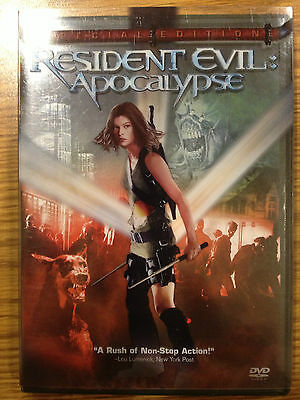 ** Resident Evil: Apocalypse (DVD, 2004, 2-Disc Set, Special Edition) **