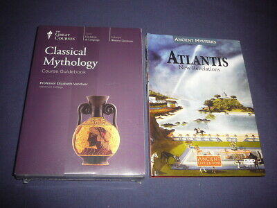 Teaching Co Great Courses  DVDs           CLASSICAL  MYTHOLOGY    new + BONUS