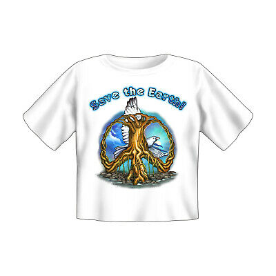Baby T-Shirt bedruckt - Save the earth