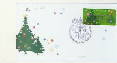 0-867   Christmas FDC   24.12.2004  from Nazareth