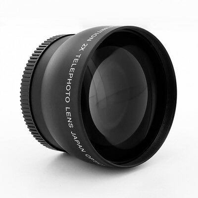 2X 40.5mm Professional Telephoto Lens FOR Olympus E-PL1 EPL1 E-P1 EP-1,USA,NEW