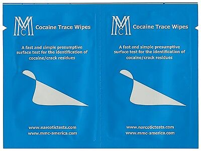 Kokain Wischtest - COCAINE TRACE WIPES