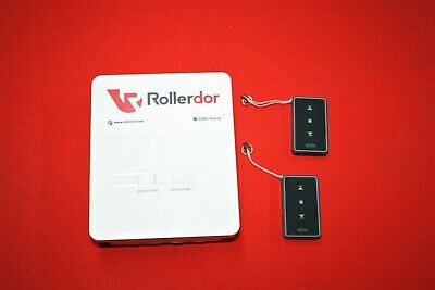 Remote control unit for roller garage door & shutters with 2 Fob's