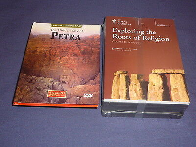 Teaching Co Great Courses CDs      EXPLORING THE ROOTS OF RELIGION   new + BONUS