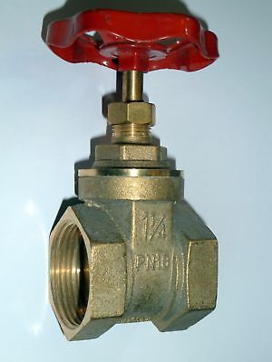 "1-1/4"" BSP Gate Valve 