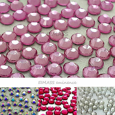 EIMASS® 1440 Hot Fix Rhinestones Glass Diamantes Crystals Gems Flat Back, 7767