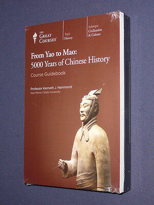 Teaching Co Great Courses  DVDs          FROM  YAO  to  MAO         new & sealed