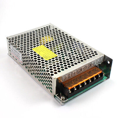 Double Output DC12V 2A and DC5V 5A Universal Regulated Switching Power Supply