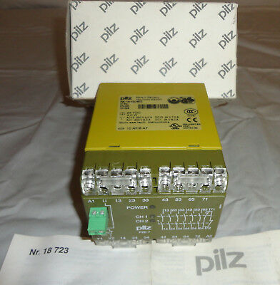 *NEW* PILZ Safety Relay PZE 7 24VDC