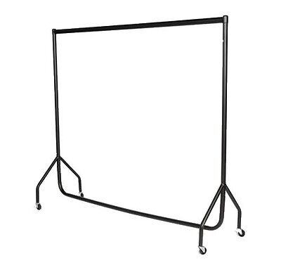 6ft x 5ft HEAVY DUTY Garment Clothes Dress Hanging Shop Display RAIL STEEL RACK