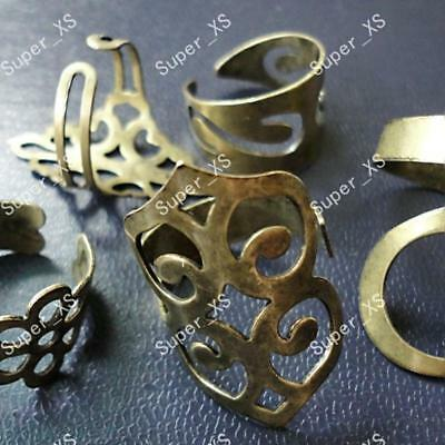 12pcs vintage bronze&alloy rings Wholesale jewelry mixed lots new free shipping