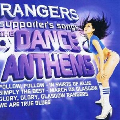 Rangers Football Songs Single Audio CD Various Artists Supporters Dance Anthems