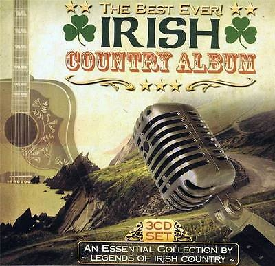 The Best Ever Irish Country Album Box Set 3 CD Various Artists