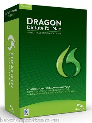 Nuance Dragon Dictate 3 For Mac Education Edition, Dragondictate V3 Not V2