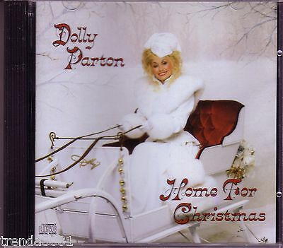 Dolly Parton Home for Christmas CD Classic 80s Country First Noel Joy to World