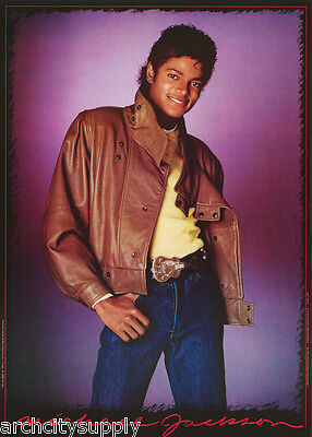 Poster :music : Michael Jackson - Young King Of Pop - Free Ship #15-243 Lp32 S