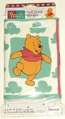 Winnie the Pooh Piglet Butterflies Self Stick Wall Border 5yds 15ft