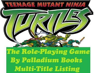 Palladium Games Teenage Mutant Ninja Turtles TMNT RPG