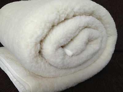 Exclusive Merino Wool Mattress Topper/ Under blanket All Sizes  Lovely quality