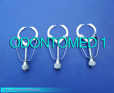 3 Ivory Matrix Retainer Dental Instruments ODM