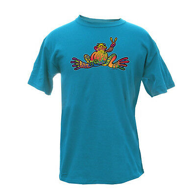 Peace Frogs Frog Hope Adult Large T-Shirt