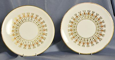 English made pair of plates 15th Feb 1871 registered mark