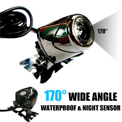 170 Degree Night Vision Car Rear View Reverse Backup Color Metal Camera AU