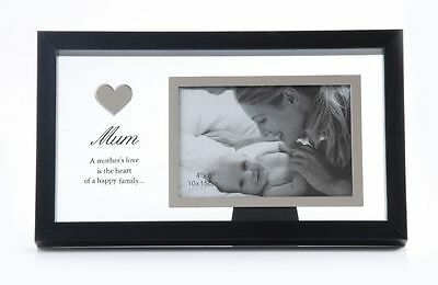 New Baby Photo Frame Glass Boys Girls Gift Keepsake Picture Hand Print Mothers